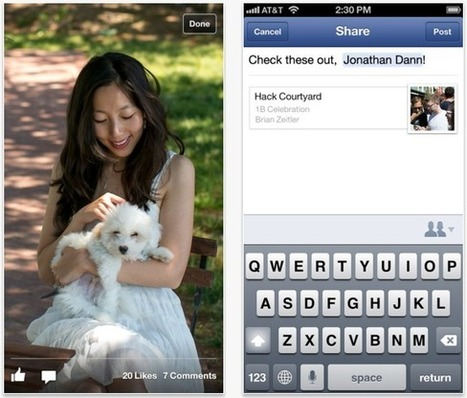 Facebook adds sharing feature to its iOS and Android apps | GadgeTell | All Technology Buzz | Scoop.it