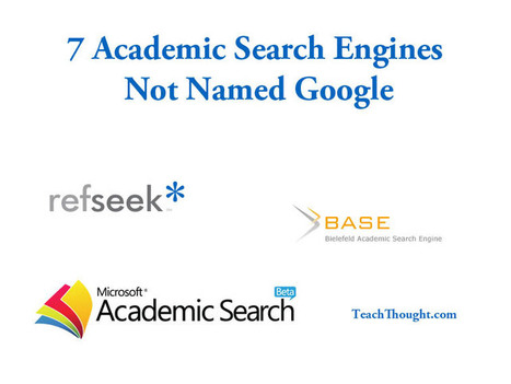 7 Academic Search Engines Not Named Google | Linking Libraries, Literacy & Learning | Scoop.it