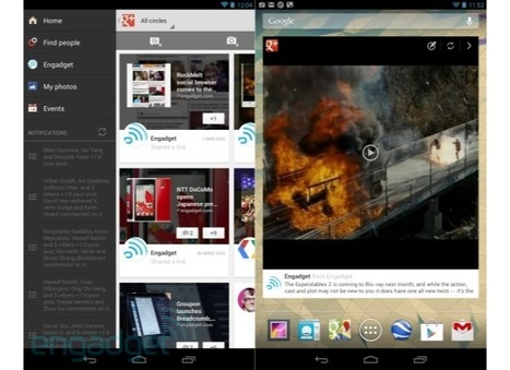 Google+ app updates bring iPhone 5 support, new widget on Android and more | Google + Project | Scoop.it