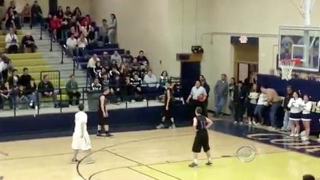 High school basketball player passes ball to mentally challenged player on the other team | Empathy in Education | Scoop.it
