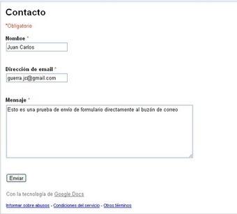 Cuestionarios autocalificables con GoogleDocs | Educar con las nuevas tecnologías | Scoop.it