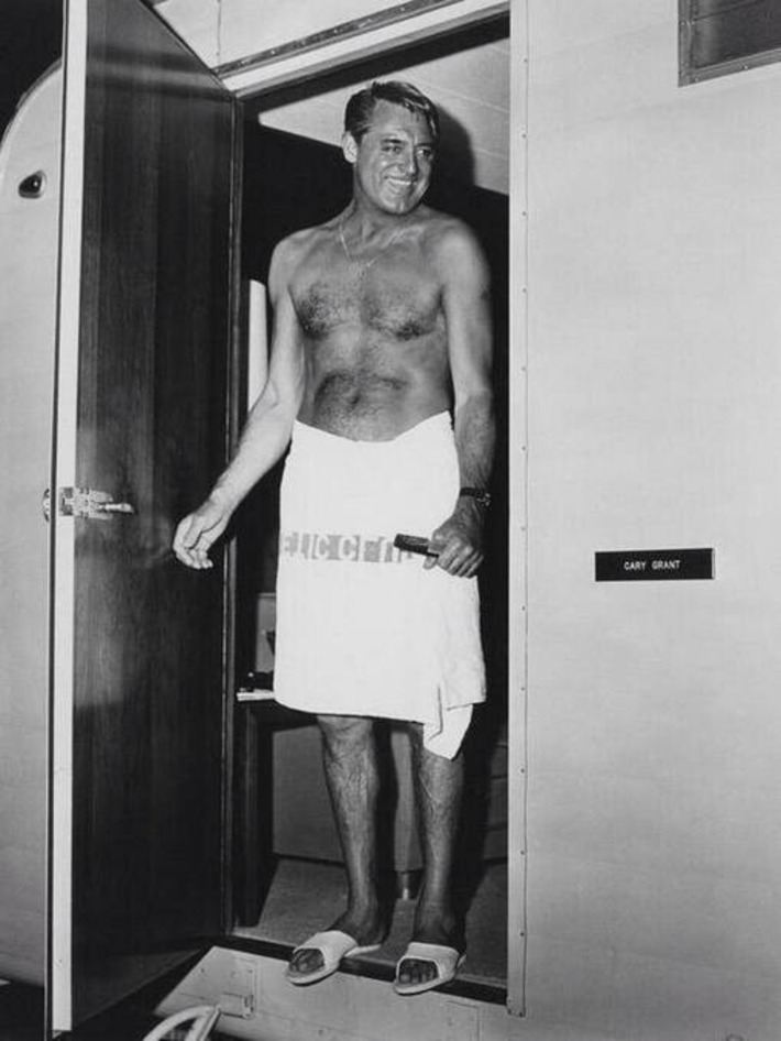 Cary Grant In A Towel | Sex History | Scoop.it