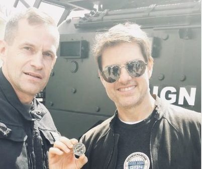 Yvelines Tom Cruise Rend Visite Au Gign Agrav