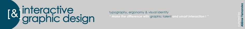 [graphic + web design] - typography, ergonomy & visual identity