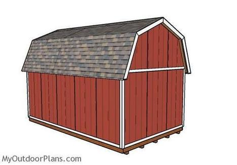 12x20 Gambrel Shed Plans Myoutdoorplans Fre
