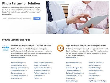 Introducing the new Google Analytics Partner Gallery | Career Branding | Scoop.it