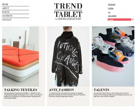 TREND TABLET – Q & A  CECILE POIGNANT – TRENDSPOT | edelkoort | Scoop.it