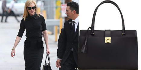 Nicole Kidman carries Ferragamo handbag | fashion and runway - sfilate e moda | Scoop.it