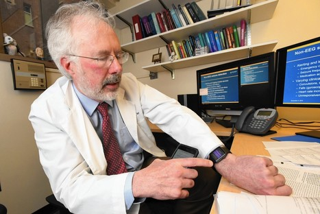 Apple Watch used to study epileptic seizures | Mobile Healthcare | Scoop.it