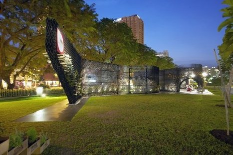 Singapore's Archifest Zero Waste Pavilion | sustainable architecture | Scoop.it