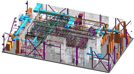 Point Cloud to Revit BIM:  Recreating As Built Environment | Building Information Modeling | Scoop.it