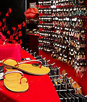 negozio accessori donna