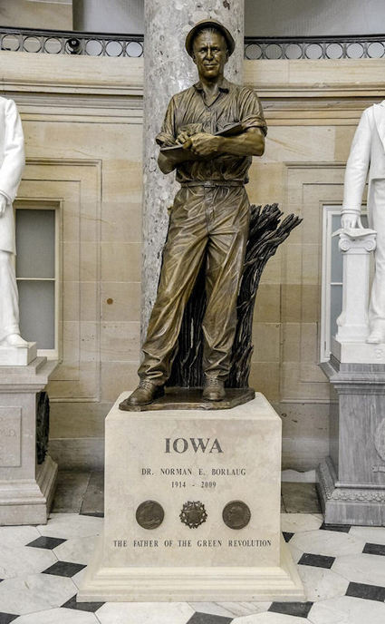 Borlaug's Contributions Remembered On Ag Day - Farm Futures | Plant Breeding and Genomics News | Scoop.it