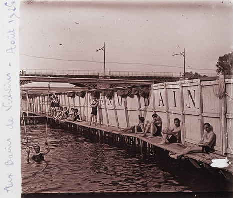 Riverside natural swimming pool in the Seine at Valvins, Fontainebleau | Flickr - Photo Sharing! | GenealoNet | Scoop.it