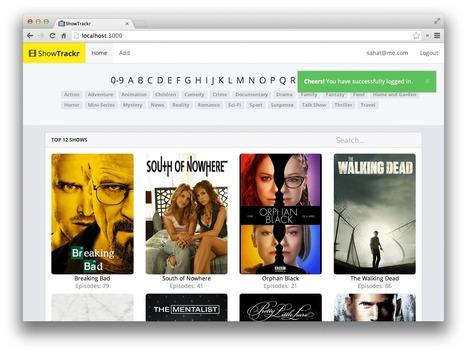 Create a TV Show Tracker using AngularJS, Node.js and MongoDB   AngularJS   Scoop.it