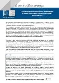 Financement du changement d'échelle de l'innovation associative | Avise.org | Associations : communication, partenariats, recherche de financement.... | Scoop.it
