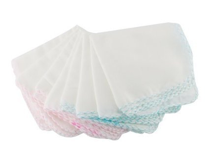 Cloth Wipes Kushies Baby Washcloths 12 Pack Baby Wash Cloth Baby Burp Cloths Unisex Organic Baby Wipes Baby Muslin Washcloths Bulk White Washcloths Wash Cloths for Face /& Body Soft Baby Towels