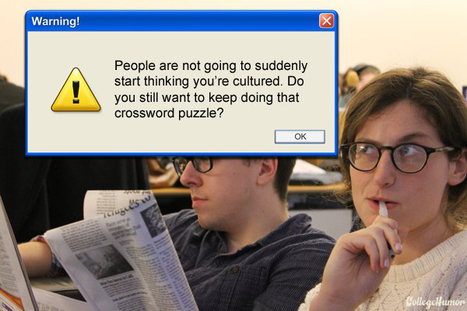 If Computer Warning Messages Could Help Us Out IRL [Humor] | Digital-News on Scoop.it today | Scoop.it