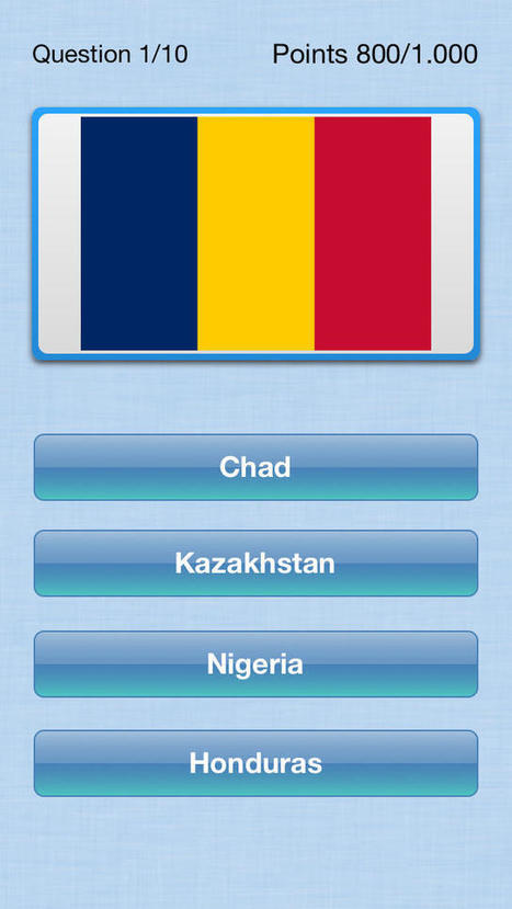 Flag quiz - Countries of the world review | Flag quiz - Countries of the world download | | Games Hey You App | iPhone App - www.heyyou-app.com | Interactive Audio | Scoop.it
