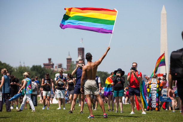 Pride and Anger Both on Display at LGBT Marches Across U.S.