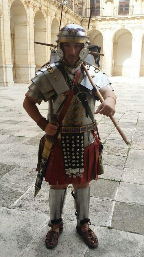 Equipación de un legionario romano del s. II d.C. by Antiqva Clío | Recursos Educativos para ESO, Geografía e Historia | Scoop.it