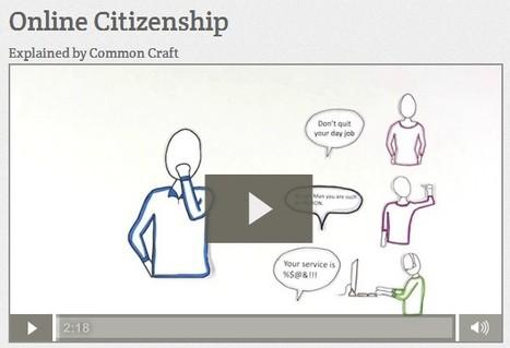 Online Citizenship | Common Craft | ciberpocket | Scoop.it