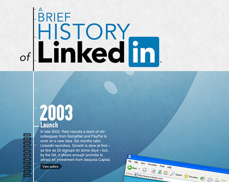 The History Of LinkedIn: A Brief 10 Year Celebration [INTERACTIVE INFOGRAPHIC] | Neli Maria Mengalli's Scoop.it! Space | Scoop.it