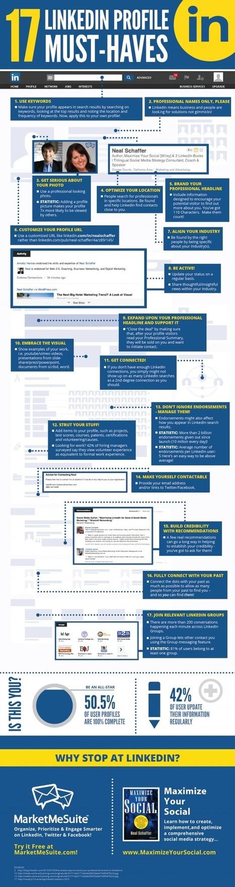 LinkedIn Profile Must Have 17 Tips | Digital Marketing Startegy | Technology | SEO | Social Media | Scoop.it