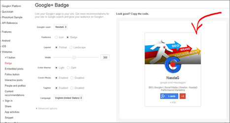 How To Embed Google Plus Hovercard Google+ Badge Into Website Post | Online Marketing Agency | SEO Agency | Nasdag PM | Social and Content Marketing Best Tips | Scoop.it