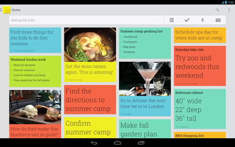 Google Keep review - App just for some quick notes | Technology | Scoop.it