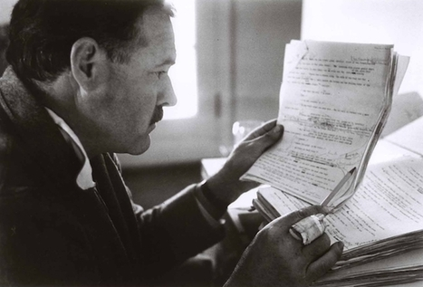 Biz Stories: Ernest Hemingway's Top 5 Tips for Writing Them | Click_Create_Network | Scoop.it