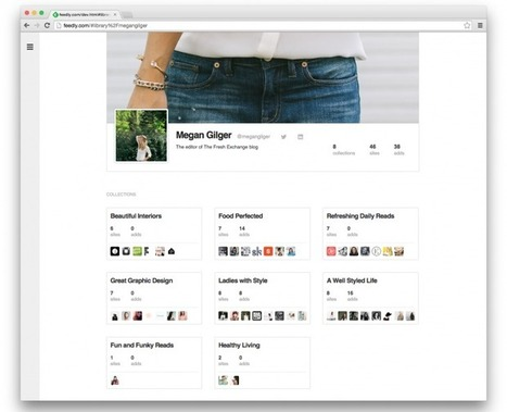 Feedly Unveils Collection Sharing, Public Aliases and Profiles | Curaduria de contenidos y Preservacion digital | Scoop.it