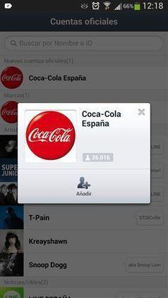 Cuentas de marcas en Line, lo último en social media - Baquia | Educación 2.0. | Scoop.it