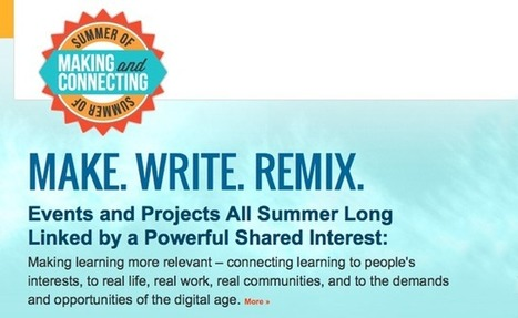 """Learning Continues with  """"The Summer of Making and Connecting"""" 
