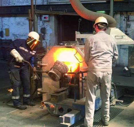 Centrifugal Casting with 3D Printed Sand Cores by ExOne | Industrial subcontracting | Scoop.it