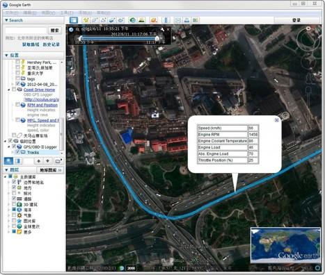 OBD-II + GPS + Accelerometer + Gyro data logger