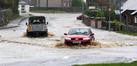 Wales weather: Rivers flood as heavy rain forecast for next 24 hours - WalesOnline | Climate Chaos News | Scoop.it