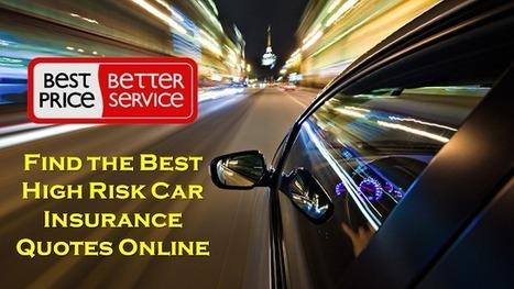 High Risk Car Insurance >> Best High Risk Drivers Car Insurance Policy Onl