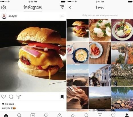 Instagram permet de conserver des publications – Les outils de la veille | Les outils du Web 2.0 | Scoop.it
