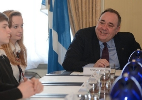 Salmond: 'Independence only way to ensure EU stay' | SayYes2Scotland | Scoop.it