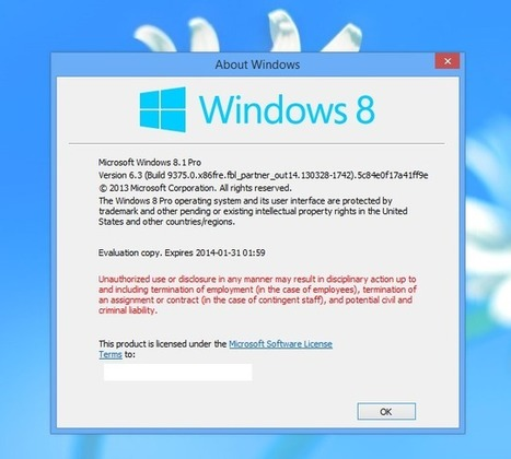 Microsoft's Windows Blue looks to be named Windows 8.1 | ZDNet | Science & Tech News | Scoop.it