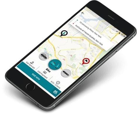 uber scooter app