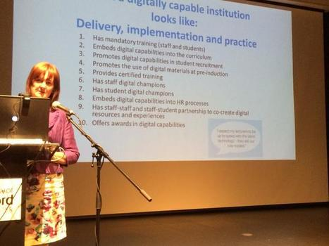 Digitally Literate Institutions? | 21st Century Blended Personalised and Flipped Learning | Scoop.it
