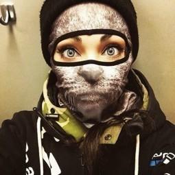 Les cagoules de ski animaux de Teya Salat   Ins... 44d41266b7a