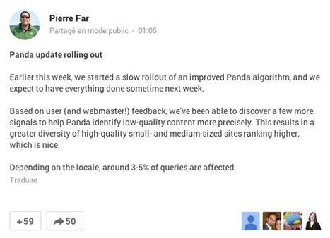 Google déploie Panda 4.1 | Dangers du Web | Scoop.it