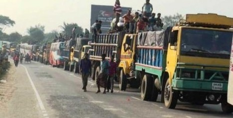Vehicles are almost at a standstill on a 25-km !! | Clothing Merchandiser | Scoop.it