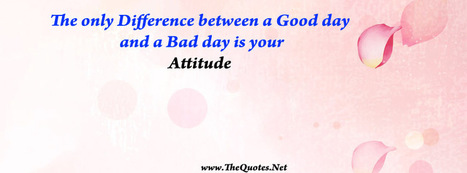 Facebook Cover Image - Good and Bad Day - TheQuotes.Net | Facebook Cover Photos | Scoop.it