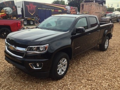 Real production 2015 Chevrolet Colorado at Minnesota State Fair | Muscle Cars of America | Scoop.it