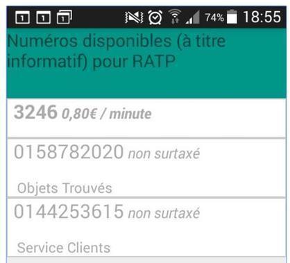 Appeler les numéros surtaxés au prix d'un appel local sur Android, Detaxor | Informatique TPE | Scoop.it