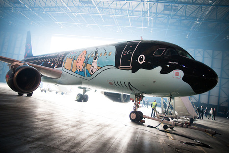 Brussels Airlines Tintin livery | Allplane: Airlines Strategy & Marketing | Scoop.it
